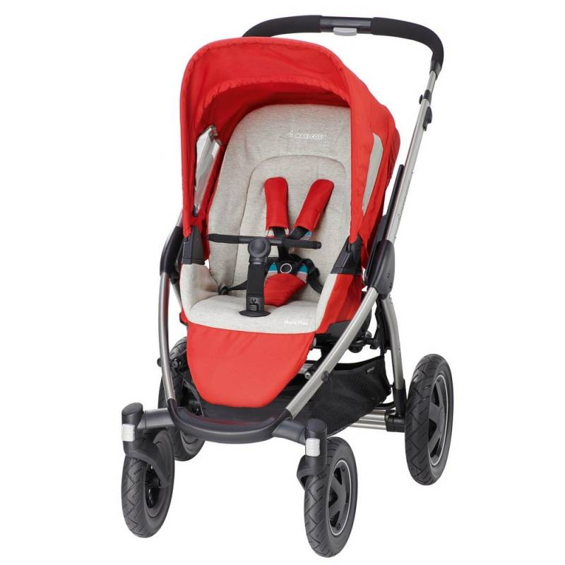 Maxi-Cosi Mura Plus 4 - Kinderwagen | Folkloric Red