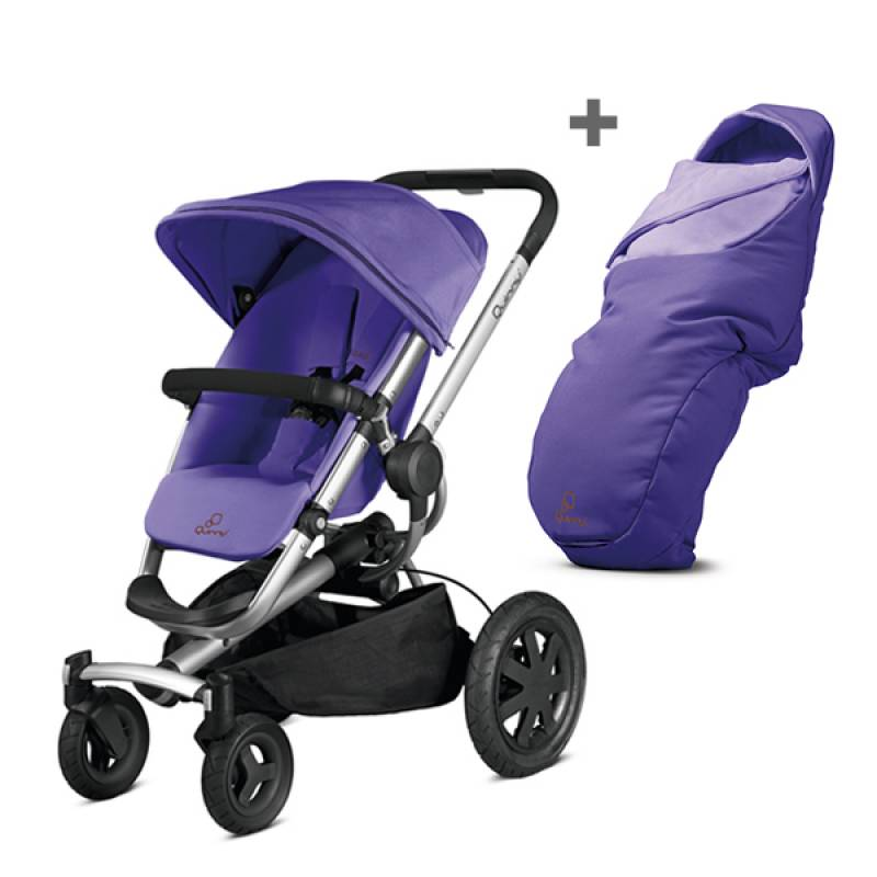 Quinny Duo Buzz 4 Xtra - Purple pace