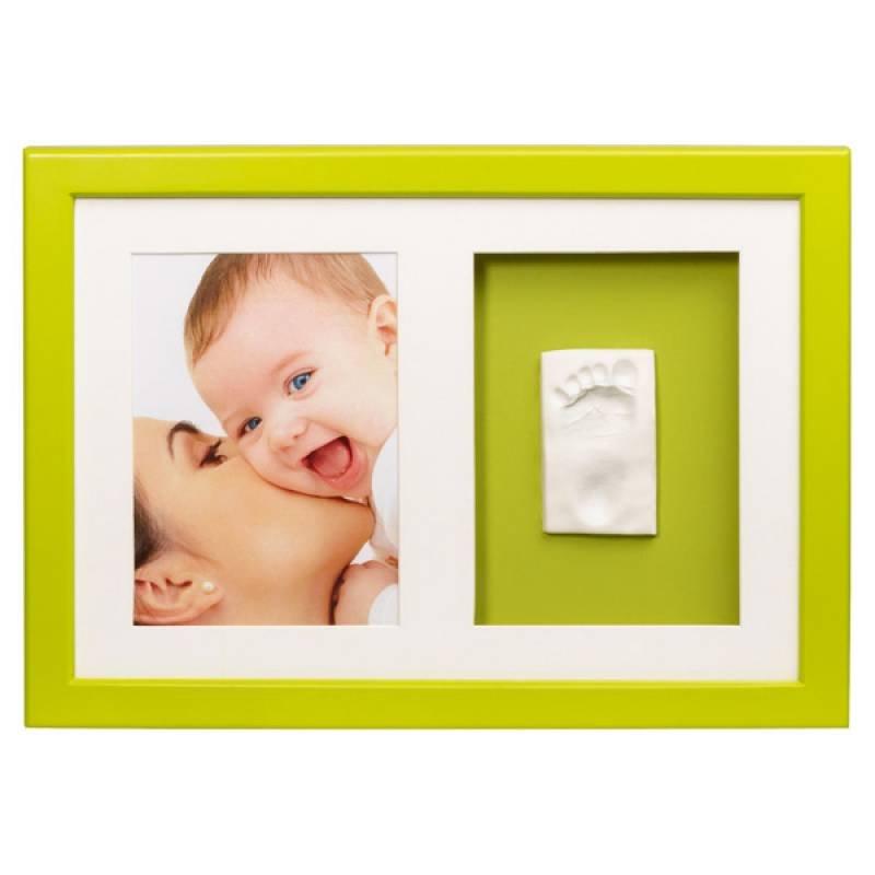 Fotolijst en gipsmodel Baby Art Wall Frame Lime