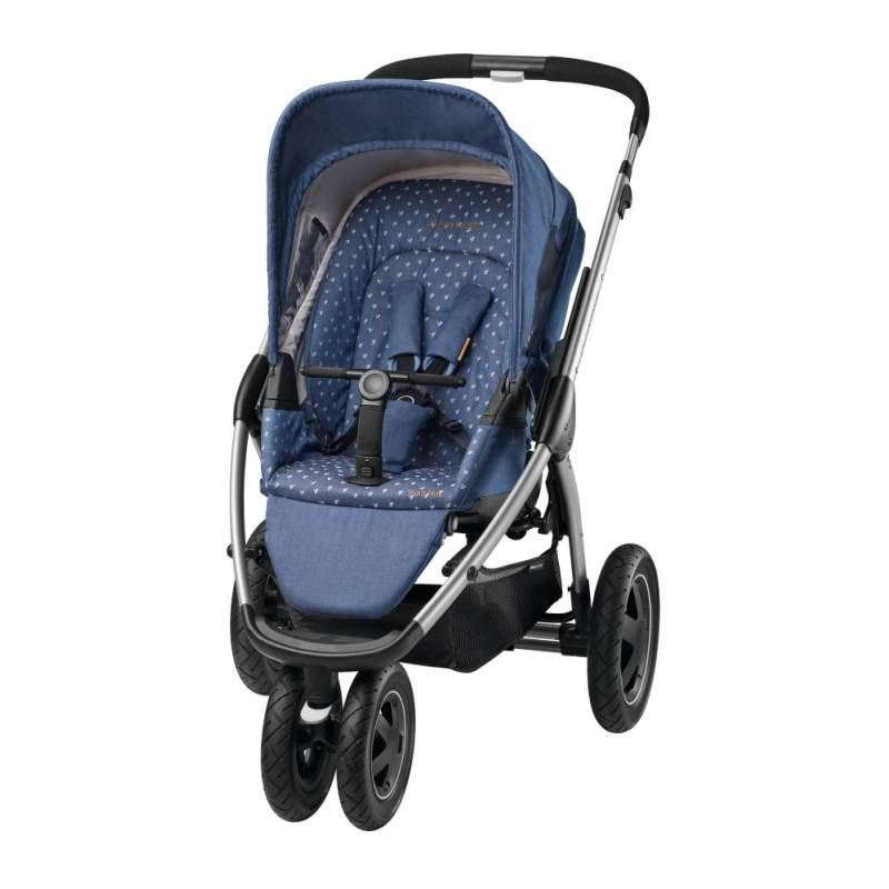 Maxi-Cosi Mura Plus 3 kinderwagen | Denim Hearts