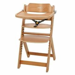 Safety 1st Timba - Kinderstoel met tray | Natural Wood